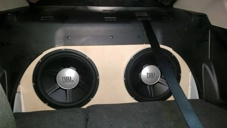 Post pics of your infinite/trunk baffle setup! - Car Audio